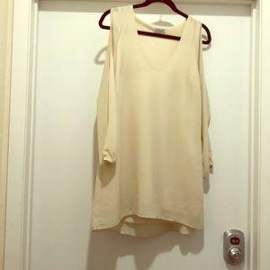 Toni Cream Dress
